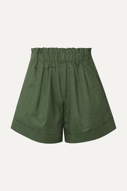 IRO Ferni cotton-poplin shorts