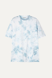 Georgia Alice Honolulu oversized tie-dyed cotton-jersey T-shirt