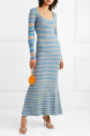 Perou striped knitted maxi dress