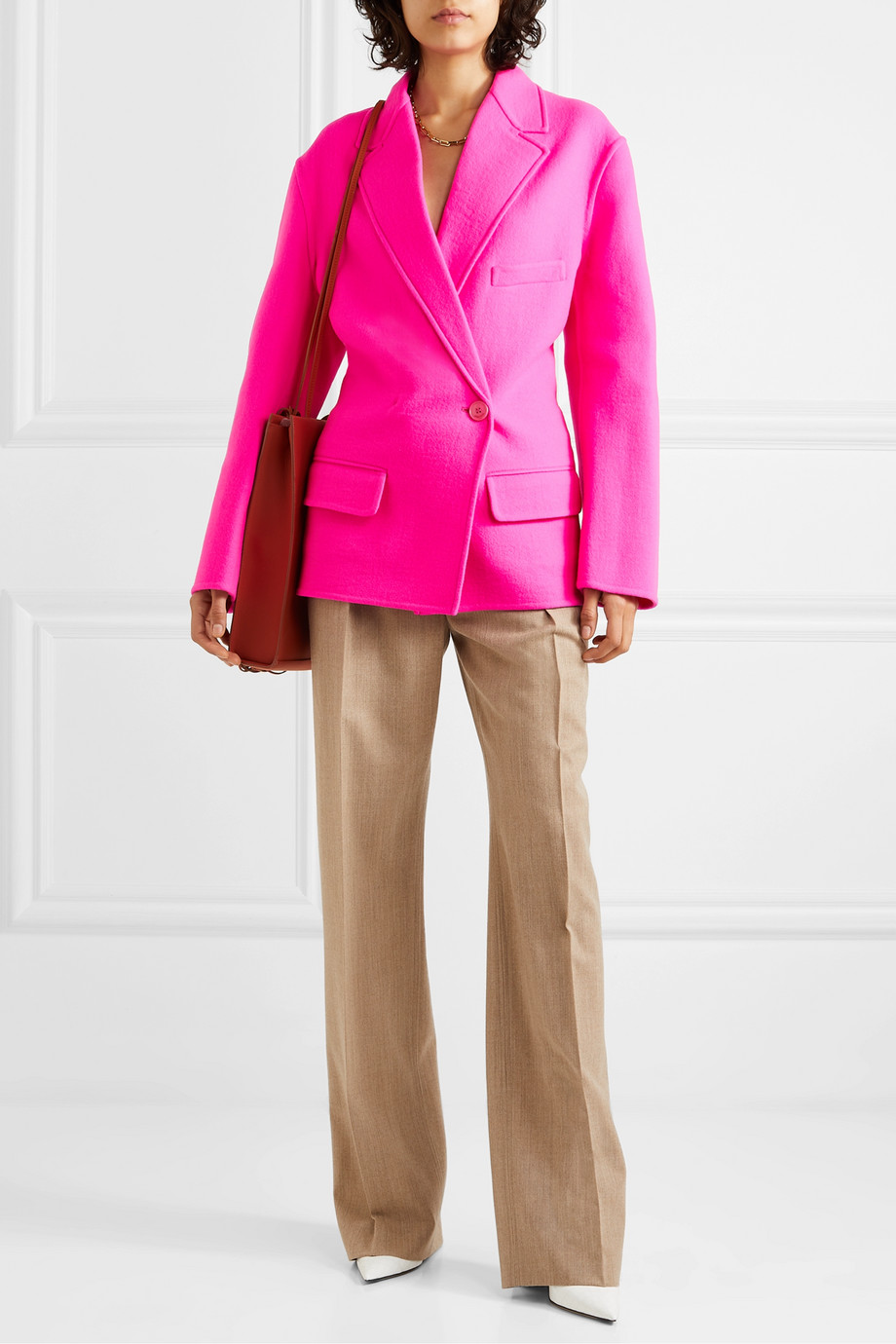 Jacquemus Sabe wool-felt blazer