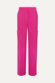 Moyo poplin straight-leg pants