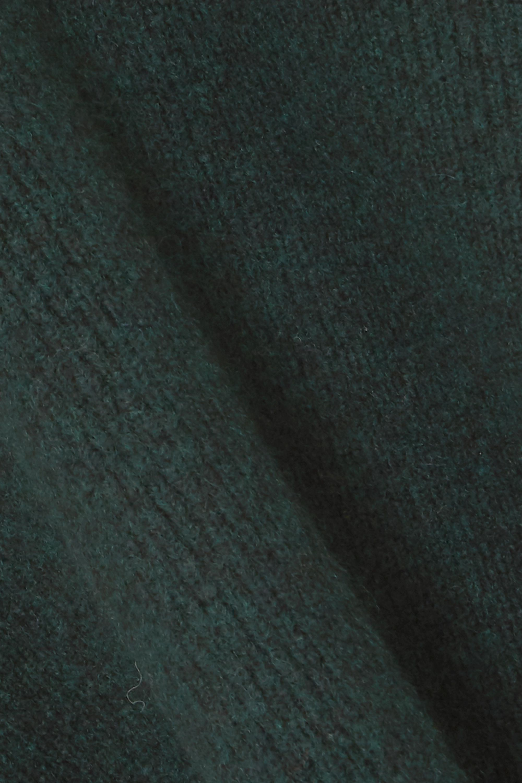 Jacquemus Baho ribbed wool-blend turtleneck top