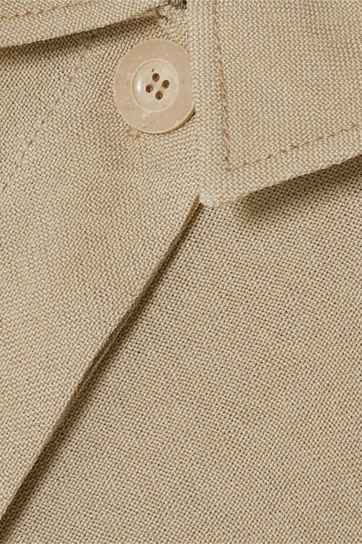 Jacquemus Loya oversized silk shirt