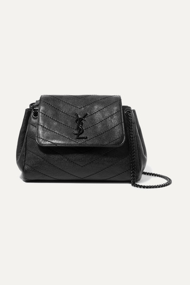 Nolita Small Quilted Leather Shoulder Bag by Saint Laurent
