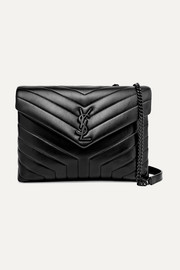 Loulou medium quilted leather shoulder bag