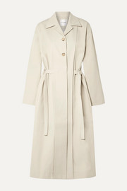 LE 17 SEPTEMBRE Cotton-blend twill trench coat