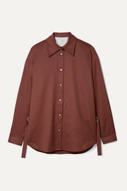 LE 17 SEPTEMBRE Wool-twill shirt