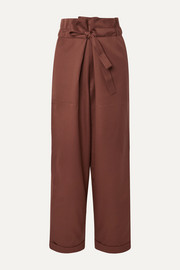 LE 17 SEPTEMBRE Wool-twill tapered pants