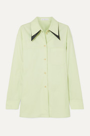 Rory oversized cotton-blend shirt