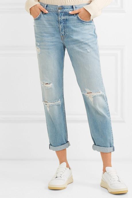 Olivia distressed slim boyfriend jeans