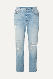 Olivia distressed slim boyfriend jeans