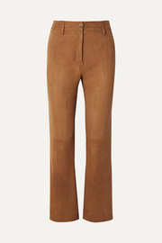 Vianna suede flared pants