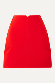 COURREGES Minirock aus Woll-Twill