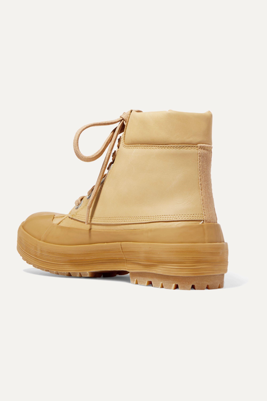Jacquemus Les Meuniers Hautes rubber-trimmed leather ankle boots