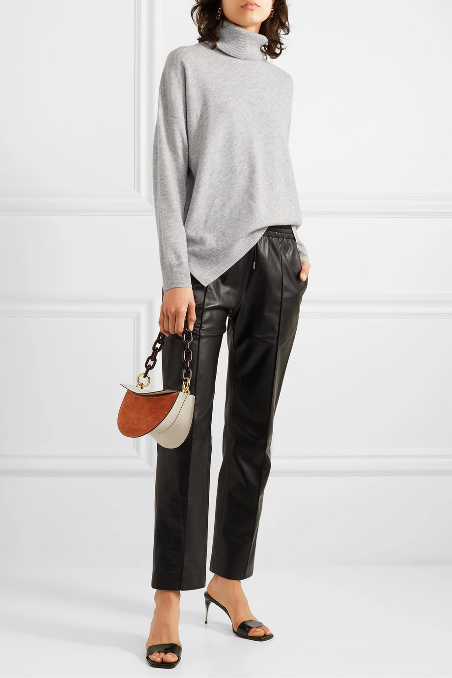 Vanessa Bruno Melanie wool and cashmere-blend turtleneck sweater