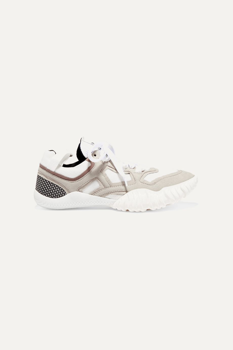 Acne Studios Suede and mesh sneakers