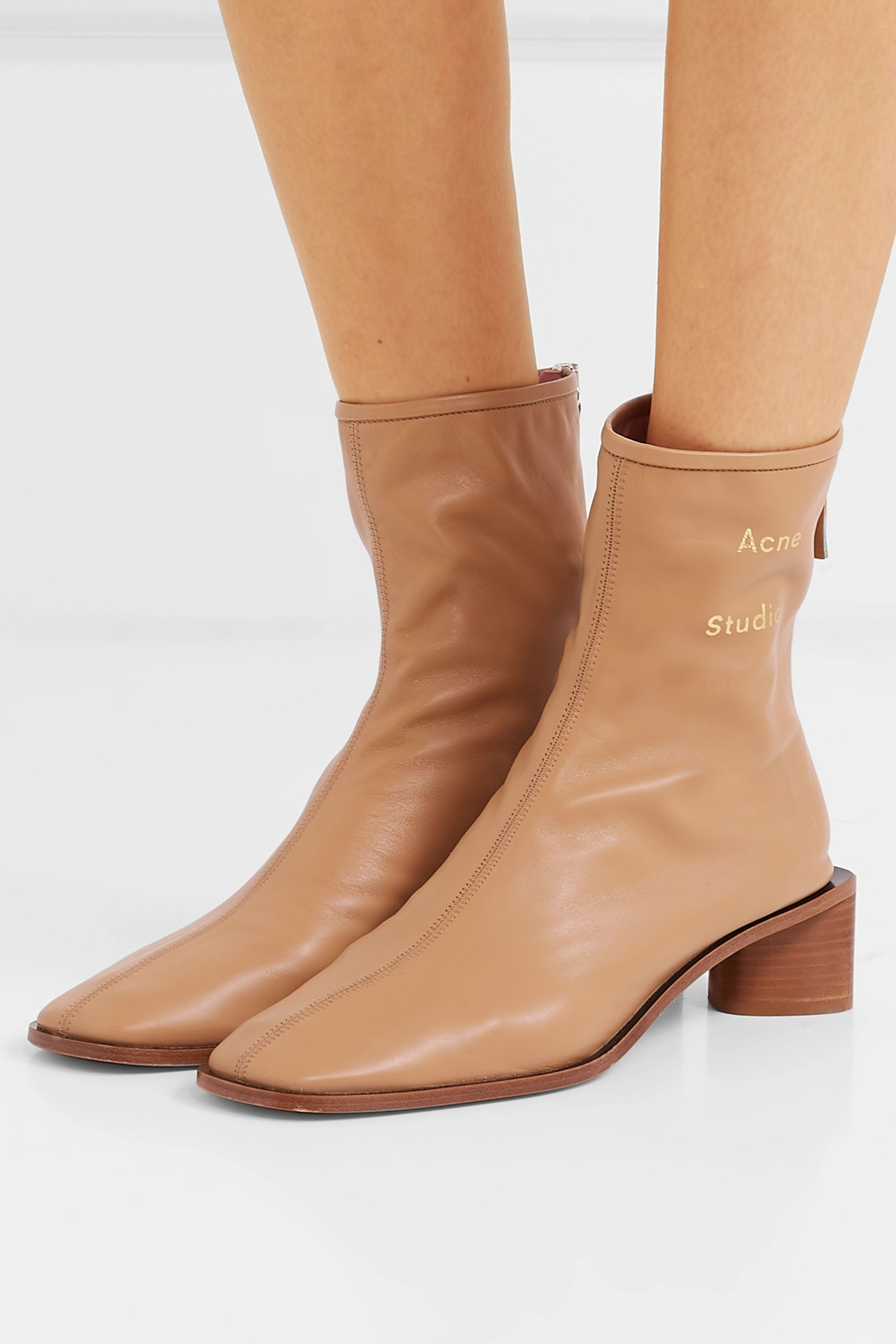 Acne Studios Bertine leather ankle boots