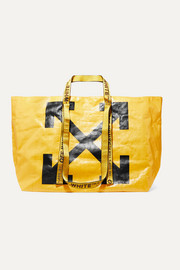 Off-White Commercial printed PVC tote