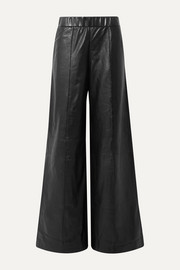 SPRWMN Leather wide-leg pants