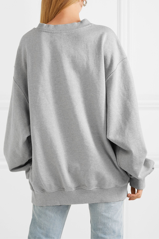 we11done Harry Oversized-Sweatshirt aus Frottee aus einer Baumwollmischung