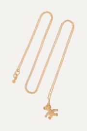 Orsetto small 18-karat rose gold necklace
