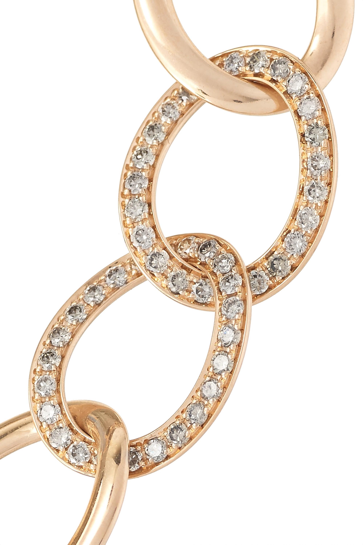 Pomellato Tango Armband aus 18 Karat Roségold mit Diamanten