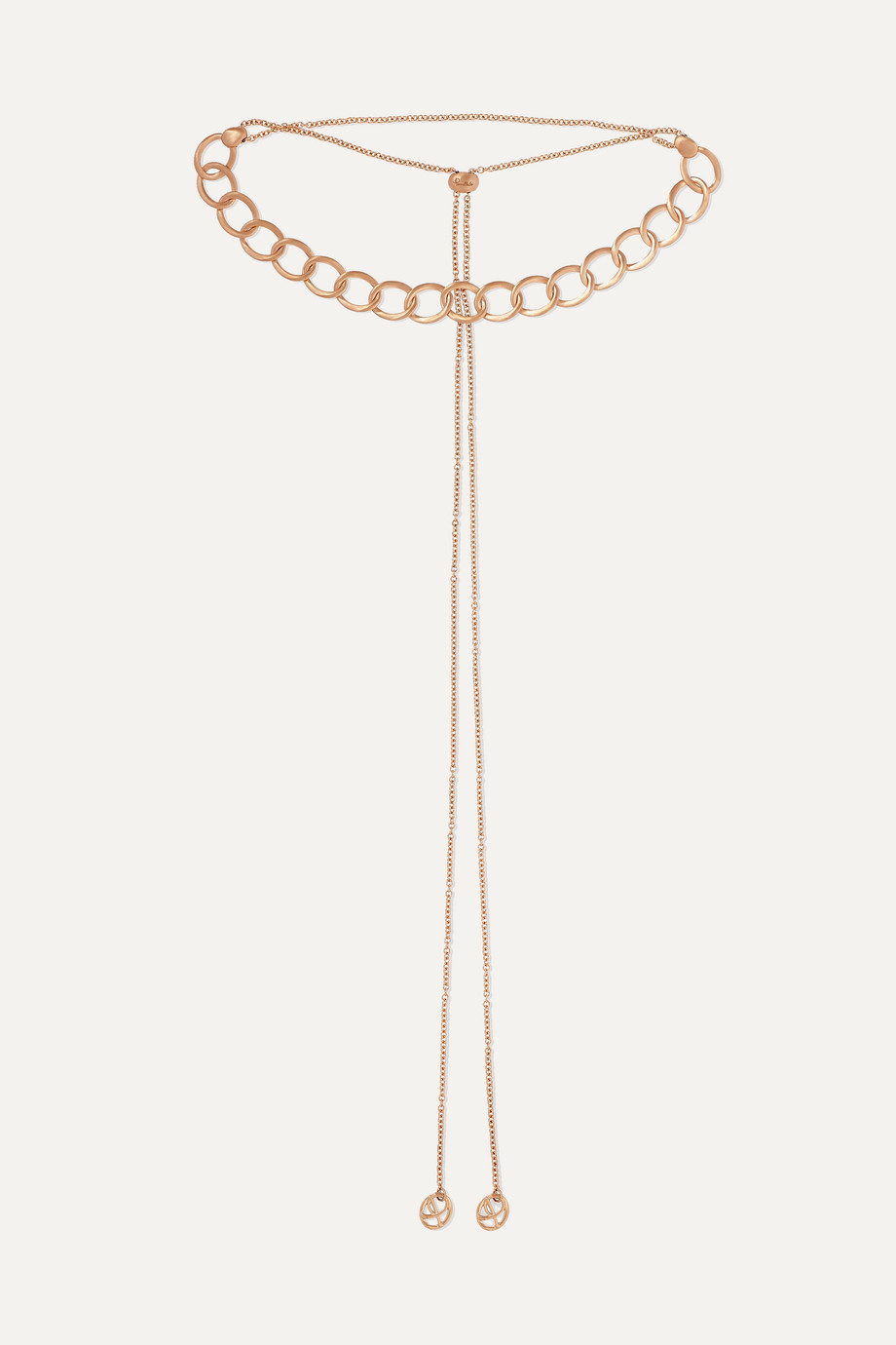 Pomellato 18-karat rose gold necklace