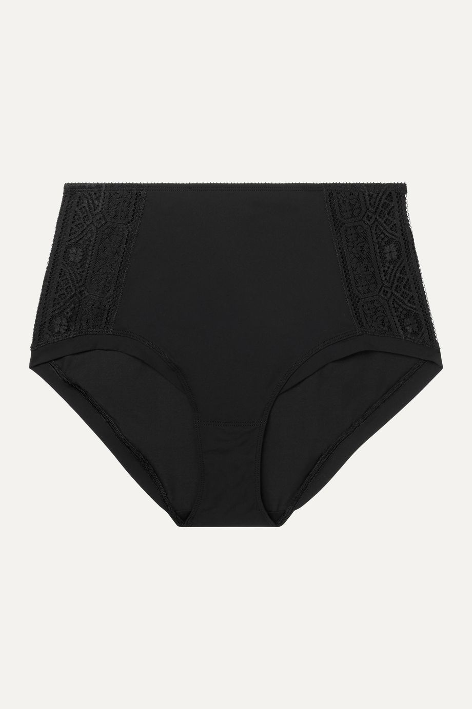 Eres Caraco Jupon lace-trimmed stretch-jersey briefs
