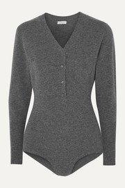 Eres Attitude wool and cashmere-blend bodysuit