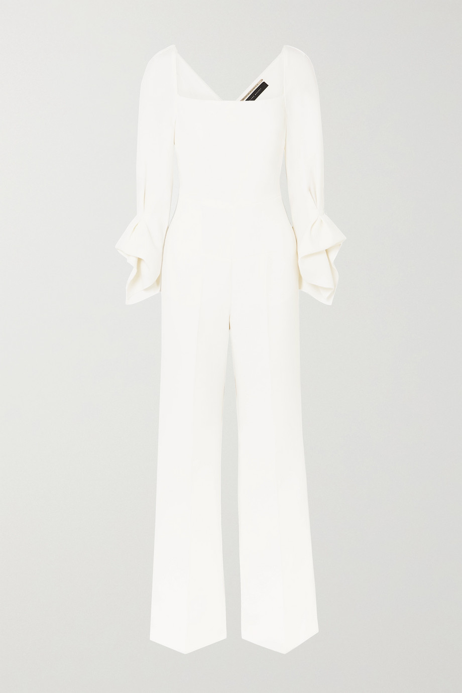 Roland Mouret Bethany wool-crepe jumpsuit