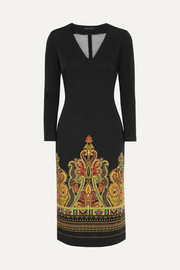 Etro Printed stretch-jersey dress