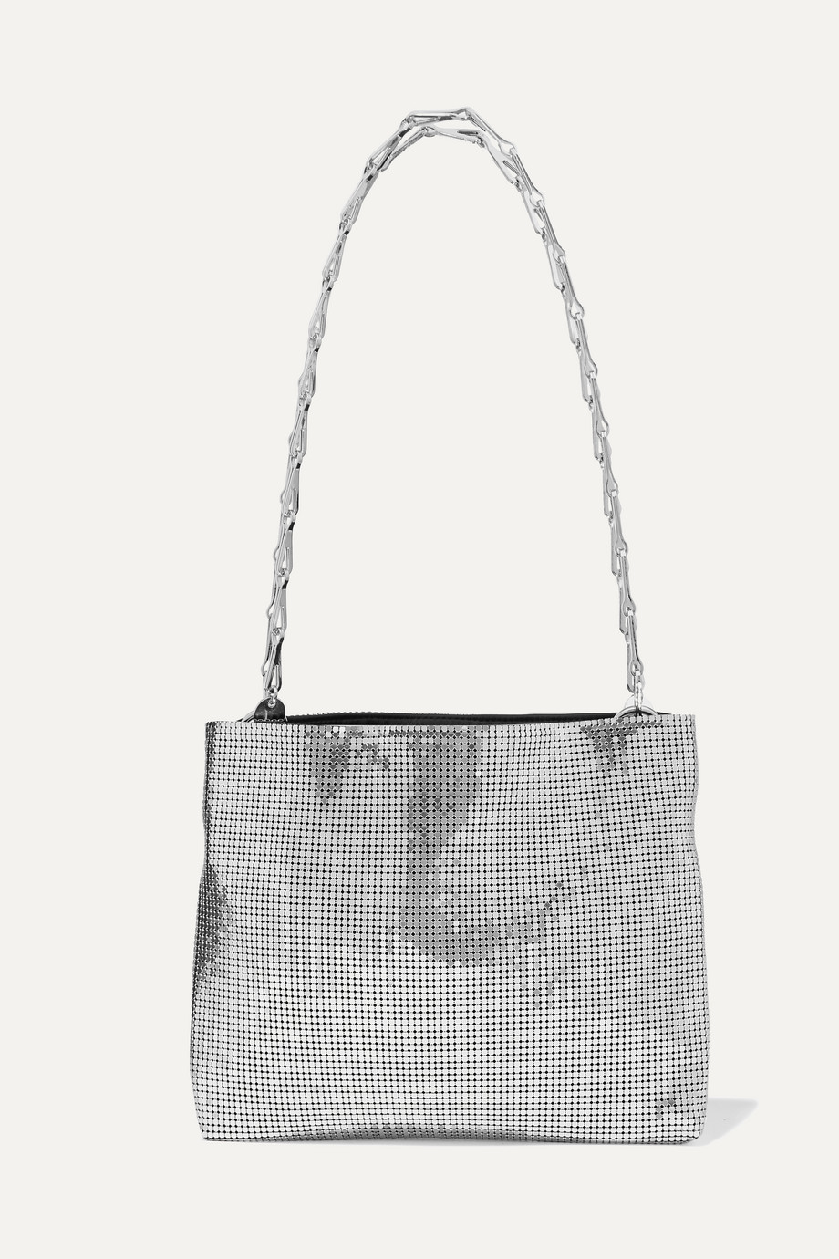 Paco Rabanne Pixel 1960 chainmail shoulder bag