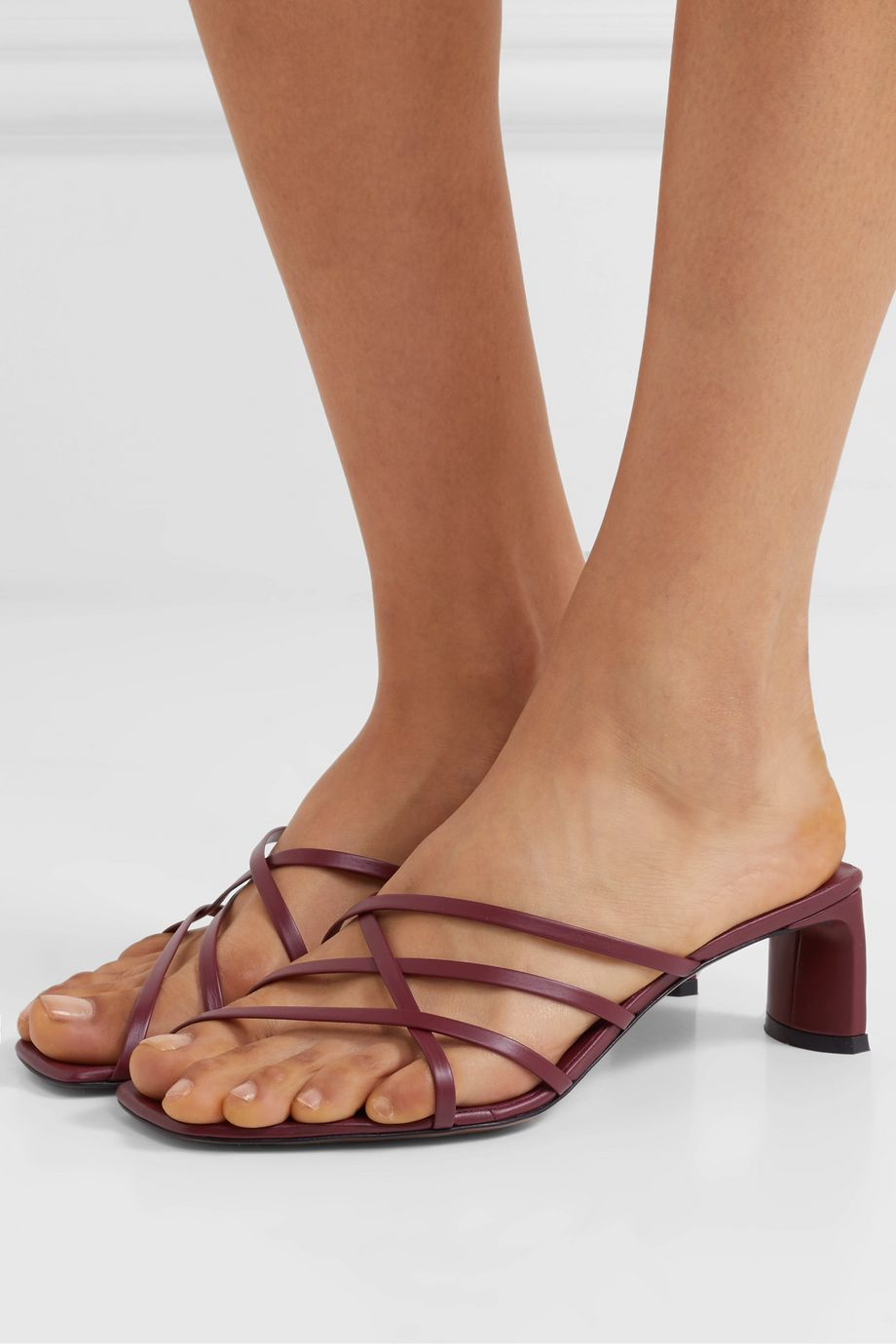 Neous Mannia leather sandals