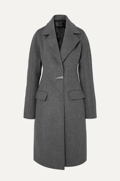 Dolmen Wool Felt Coat by Mugler