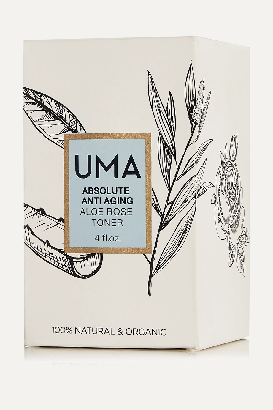 UMA Oils + NET SUSTAIN Anti-Aging Aloe Rose Toner, 120ml