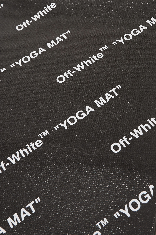 Off-White Printed yoga mat