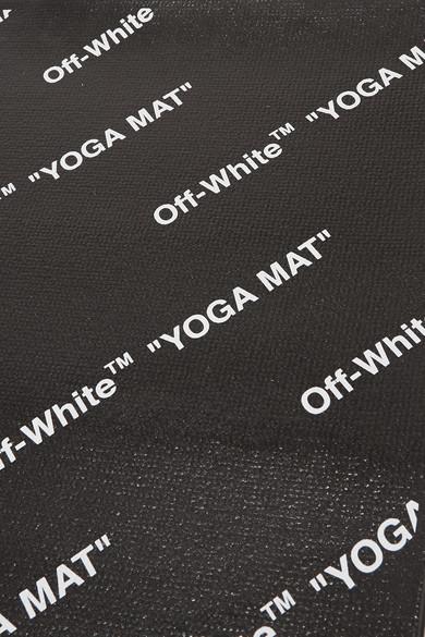 Off White Printed Yoga Mat Net A Porter Com