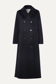 Montrose belted cashmere trench coat
