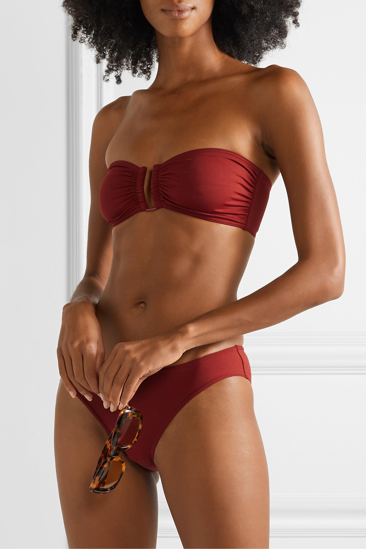 Eres Les Essentiels Show bandeau bikini top