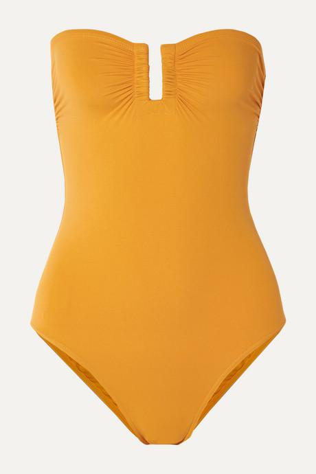 Saffron Les Essentiels Cassiopée bandeau swimsuit | Eres uMzR2V