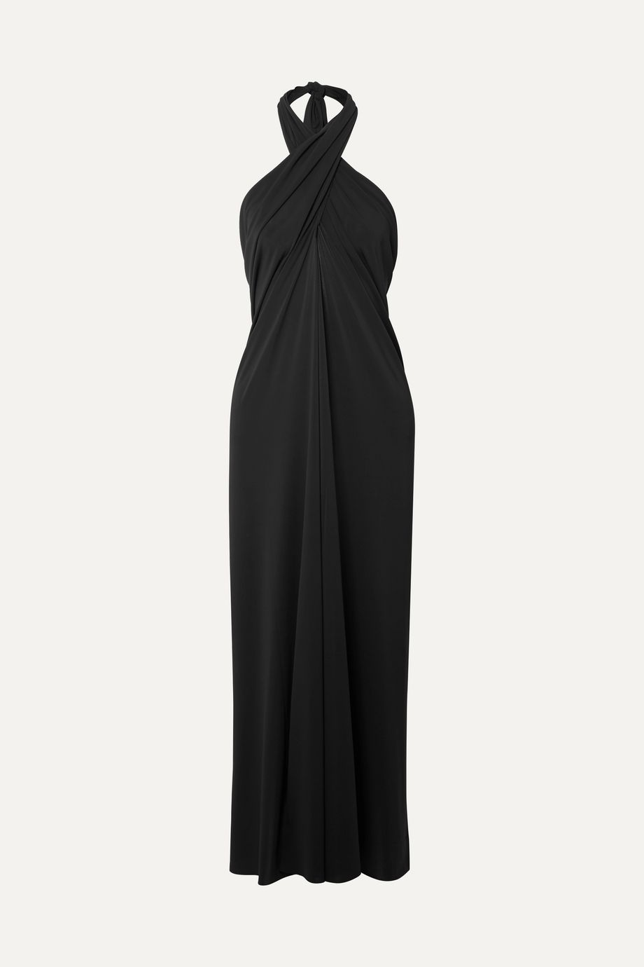 Eres Caro convertible stretch-jersey halterneck midi dress