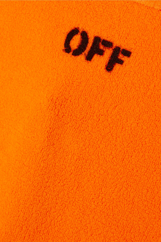 Off-White Printed fleece bodysuit