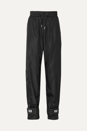 Off-White Appliquéd shell track pants