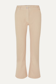 Off-White Cropped straight-leg jeans