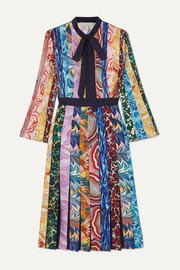 Mary Katrantzou Desmine printed crepe de chine midi dress