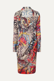 Vivienne Westwood Grand Fond printed jersey dress