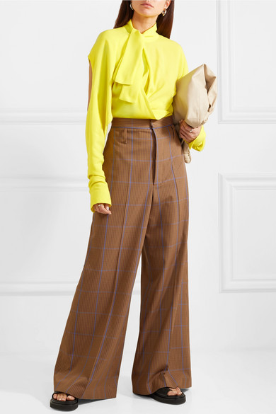 брюки тренды длина ширина