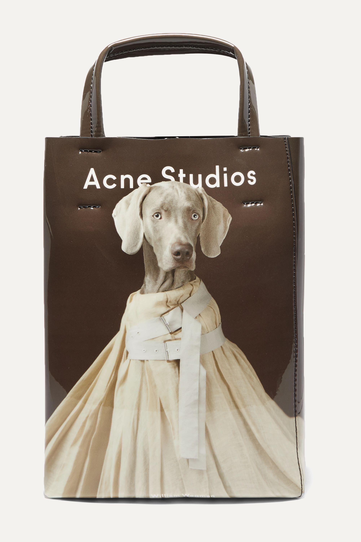 Acne Studios Sac à main en PVC imprimé Baker Small