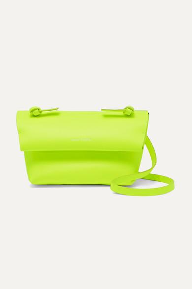 mini-neon-leather-shoulder-bag by acne-studios