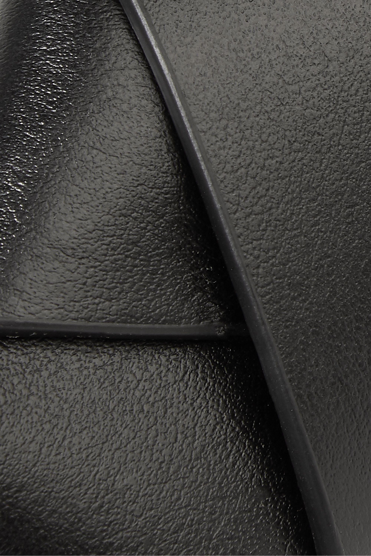 Acne Studios Musubi Gürteltasche aus Leder mit Knoten